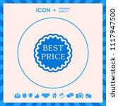 best price label icon | Shutterstock .eps vector #1117947500