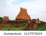 entrance gopura  brihadisvara... | Shutterstock . vector #1117975019