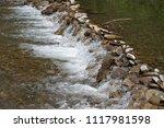 clean mountain river  stream | Shutterstock . vector #1117981598