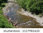 clean mountain river  stream | Shutterstock . vector #1117981610