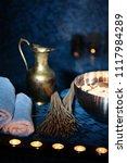 scenery baths hammam  spa... | Shutterstock . vector #1117984289