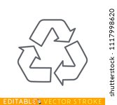 recycle icon. eco recycling....   Shutterstock .eps vector #1117998620