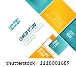 abstract business background.... | Shutterstock .eps vector #1118001689
