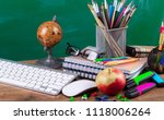 back to school | Shutterstock . vector #1118006264