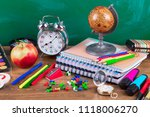 back to school | Shutterstock . vector #1118006270