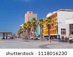 tel aviv yafo  israel   june 6  ...   Shutterstock . vector #1118016230