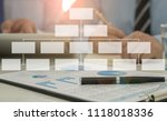 business structure concept.... | Shutterstock . vector #1118018336