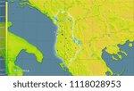 mean annual temperature... | Shutterstock . vector #1118028953
