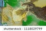 physical map within the... | Shutterstock . vector #1118029799