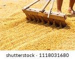 dehumidification process... | Shutterstock . vector #1118031680