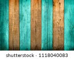 green and natural wood textured ... | Shutterstock . vector #1118040083