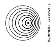 doppler effect  doppler shift  | Shutterstock .eps vector #1118042546