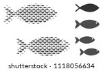 fish pair halftone composition. ...   Shutterstock .eps vector #1118056634