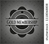 gold membership retro style... | Shutterstock .eps vector #1118068808