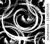 grunge hand drawn vortex... | Shutterstock .eps vector #1118071154