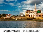 view from the ocean of recently ... | Shutterstock . vector #1118081630