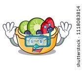 diving fruit tart character... | Shutterstock .eps vector #1118083814