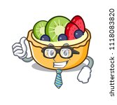 businessman fruit tart... | Shutterstock .eps vector #1118083820