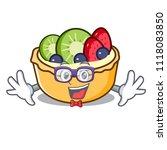 geek fruit tart character... | Shutterstock .eps vector #1118083850