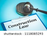 construction law concept | Shutterstock . vector #1118085293