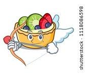 cupid fruit tart character... | Shutterstock .eps vector #1118086598