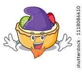 elf fruit tart character cartoon | Shutterstock .eps vector #1118086610
