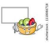bring board fruit tart... | Shutterstock .eps vector #1118086718