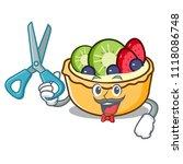 barber fruit tart character... | Shutterstock .eps vector #1118086748