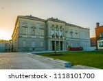 sunset view of the national...   Shutterstock . vector #1118101700