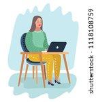 vector cartoon illustration of...   Shutterstock .eps vector #1118108759