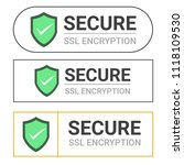 secure your site with https ... | Shutterstock .eps vector #1118109530