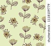 seamless pattern in... | Shutterstock .eps vector #1118109779