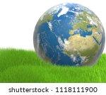 green blue world wide planet... | Shutterstock . vector #1118111900