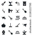 set of vector isolated black... | Shutterstock .eps vector #1118122700