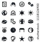 set of vector isolated black... | Shutterstock .eps vector #1118126900