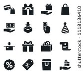 set of simple vector isolated... | Shutterstock .eps vector #1118136410