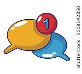 dialog icon. cartoon...