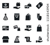set of simple vector isolated... | Shutterstock .eps vector #1118143904
