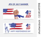 independence day of usa. happy...   Shutterstock .eps vector #1118149598