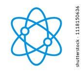 atom science molecule | Shutterstock .eps vector #1118150636