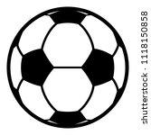 football icon. simple...