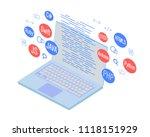 programming banner  coding ... | Shutterstock .eps vector #1118151929