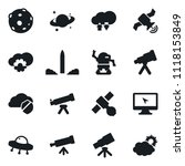 set of simple vector isolated... | Shutterstock .eps vector #1118153849