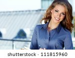 attractive  real estate agent