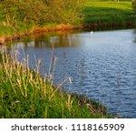 river irvine ayrshire scotland... | Shutterstock . vector #1118165909