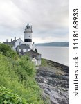 the cloch lighthouse ayrshire... | Shutterstock . vector #1118168933