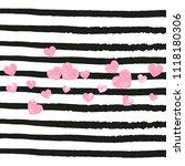 wedding glitter confetti with...   Shutterstock .eps vector #1118180306
