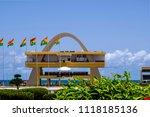 accra ghana   april 11 2018 ... | Shutterstock . vector #1118185136
