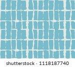 tie dye ornament  indigo kimono ... | Shutterstock .eps vector #1118187740