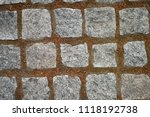 wall for texture background | Shutterstock . vector #1118192738